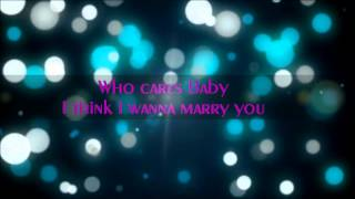 karaoke - marry you by the curly boy