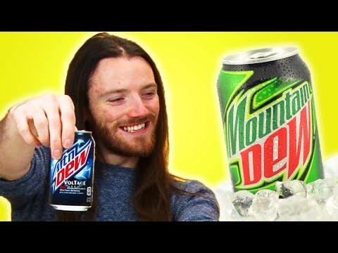 Irish People Taste Test Mountain Dew