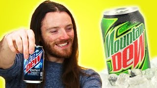 Irish People Taste Test Mountain Dew
