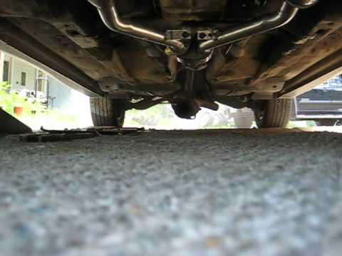 2001 Subaru Outback 3.0 >> 2002 Subaru Outback 3.0 H-6, open exhaust - YouTube