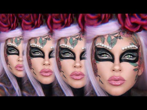Halloween Makeup: Dia De Los Masquerade thumbnail