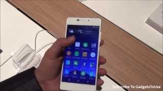 Gionee Elife S7 Hands on Review, Camera, Price, Features, Comparison and Overview at MWC 2015
