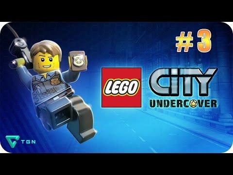 LEGO City Undercover - Capitulo 3 - Español (WiiU) 1080p HD