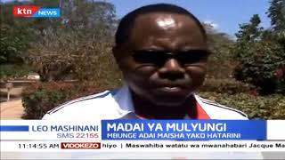 Mbunge wa jimbo la kati la Mwingi Gideon Mulyungi adai maisha yako hatarini