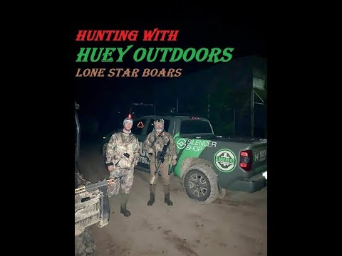 Hunting With Huey Outdoors - Lone Star Boars