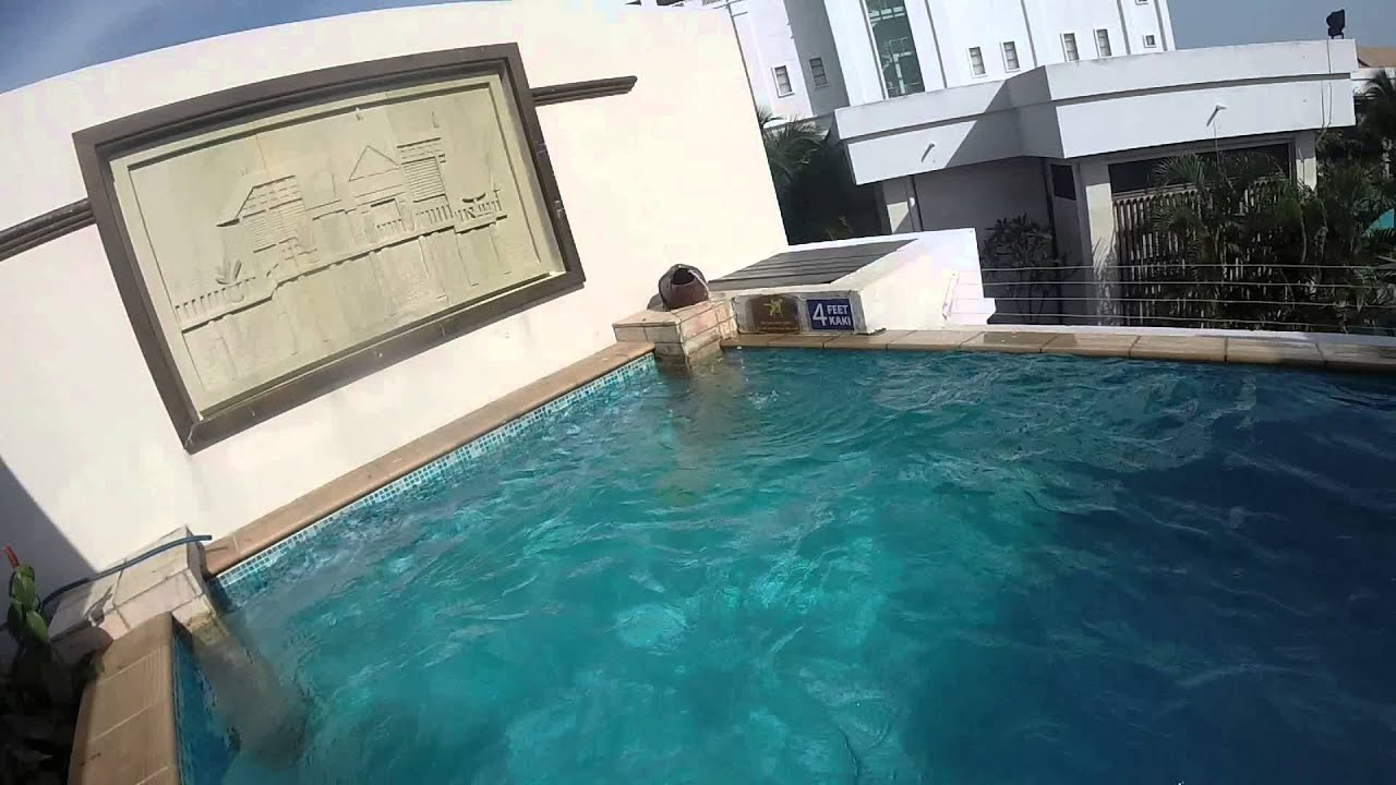 Grand lexis beach resort garden pool villa youtube for Pool garden resort argao