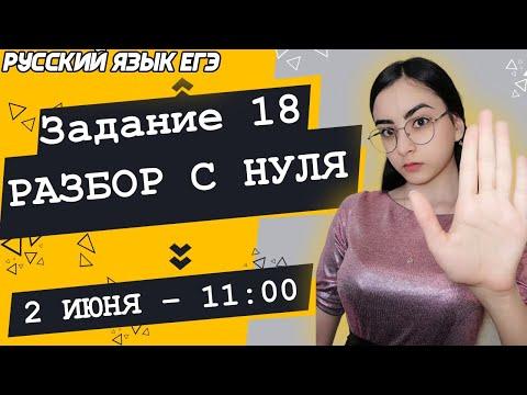 🔴ЕГЭ Русский Язык 2021 | Задание 18 | Вводные слова и обращения | Разбор с нуля