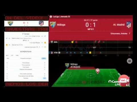 Malaga Vs Atletico Madrid | Live Stream