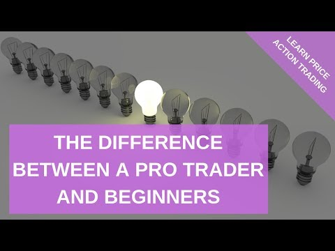 The Difference Between A Pro Trader And Beginners