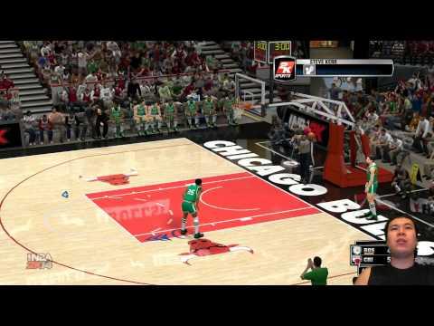 NBA 2K14 - Michael Jordan's Alley Oop