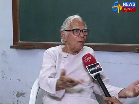 Ahmedabad: Battle for Akademi's Autonomy: Prakash Shah_Etv News Gujarati