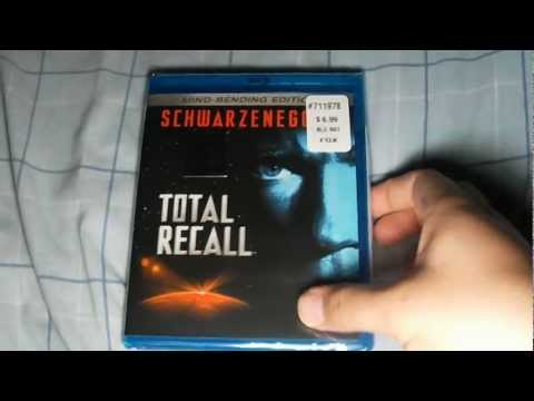 Total Recall (1990) Mind Bending Edition Bluray Unboxing