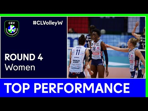 Paola Ogechi Egonu | Top Performance Pool B - Round 4 | #CLVolleyW