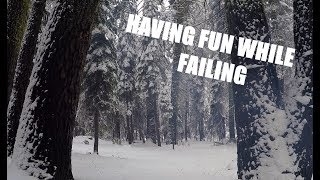Video Camping Attempt At Robinson Flat, First Snow 2017 - Fail And Learn download MP3, 3GP, MP4, WEBM, AVI, FLV Desember 2017