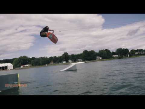 Check Nicolas Leduc Wakeboard video Pro Men wakeboarder