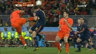 Sudafrica 2010 Holanda 0-1 España ( Resumen de Canal+ )
