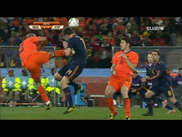 Sudafrica 2010 Holanda 0 1 Espana Resumen De Canal Youtube