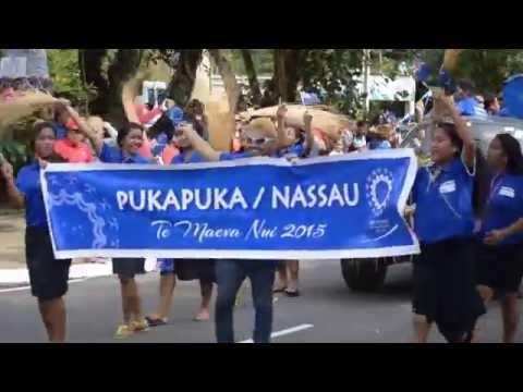 Pukapuka @ Te Maeva Nui 2015 float parade