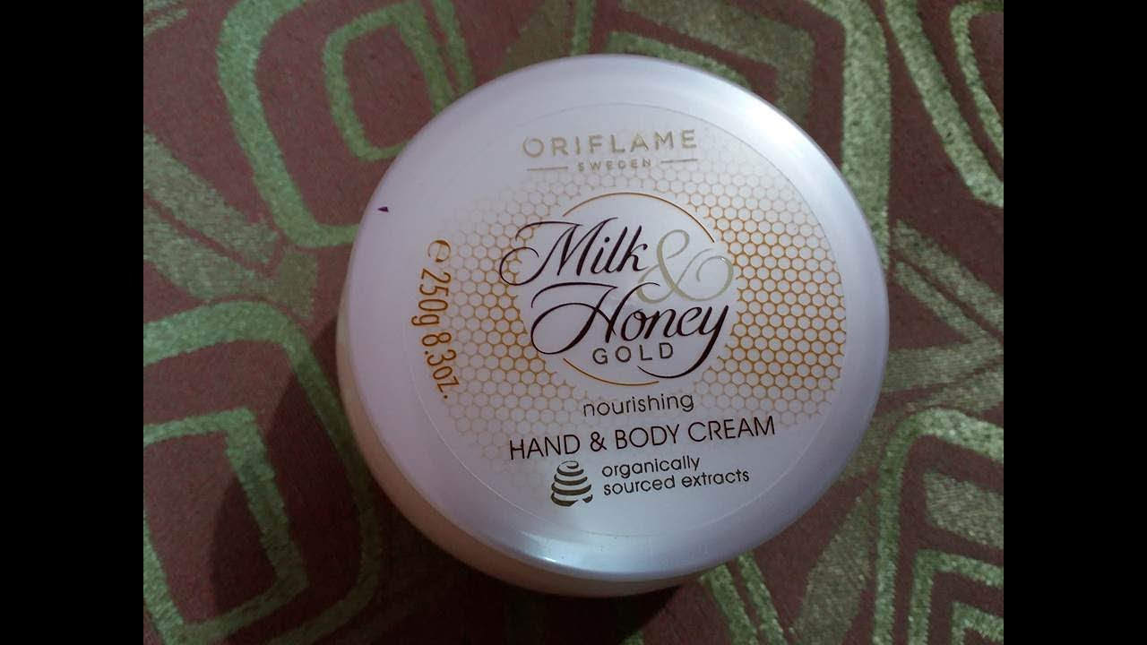 Oriflame Milk And Honey Hand And Body Lotion Review Youtube