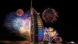 Dubai new year fireworks 2016 jumeirah