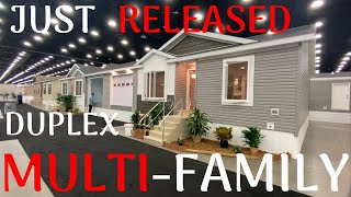 Just released multi-family duplex double wide mobile home! Never before seen setup! Home Tour