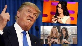 Celebs REACT To First Presidential Debate! (TRUMP VS CLINTON)