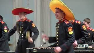 «Эль Кумбанчеро» в исполнении суворовцев Московского военно-музыкального училища