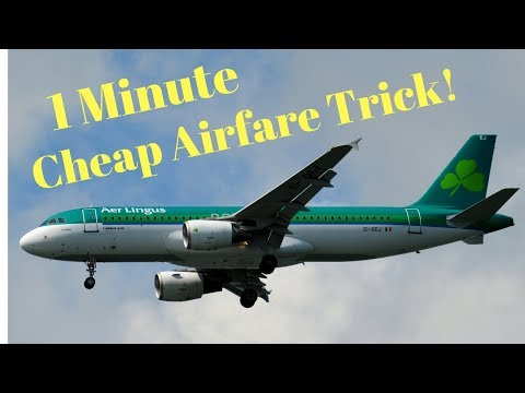 How To Find Amazing Airfare Bargains In Less Than 1 Minute
