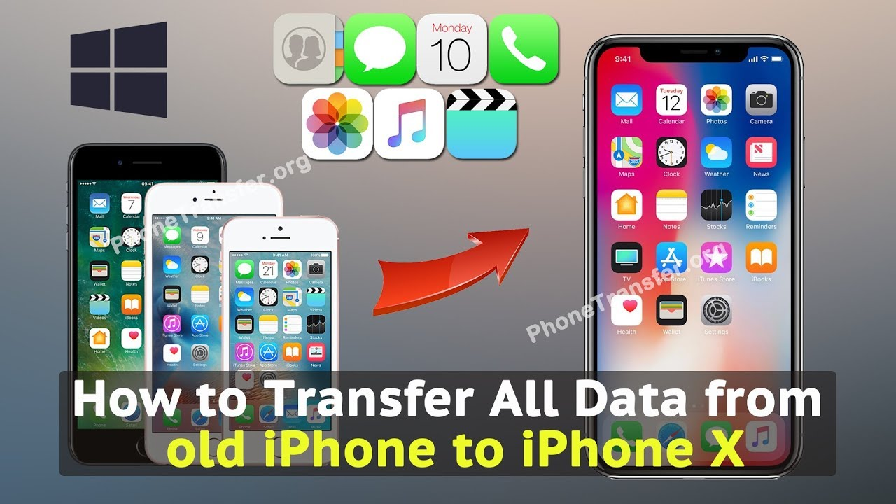 transfer data to new iphone how to transfer all data from iphone to iphone x 6902