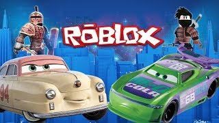 Disney Cars 3 Louise Nash & Roblox Toys 🔴 Live Unboxing Show Pat Traxson HJ Hollis
