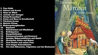Hörbuch für Kinder - Die schönsten Märchen von Gebrüder Grimm - Hörbuch Deutsch Komplett