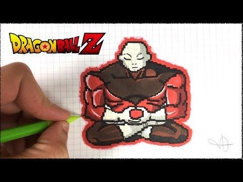 Dessin Jiren Pixel Art Dragon Ball Super Youtube