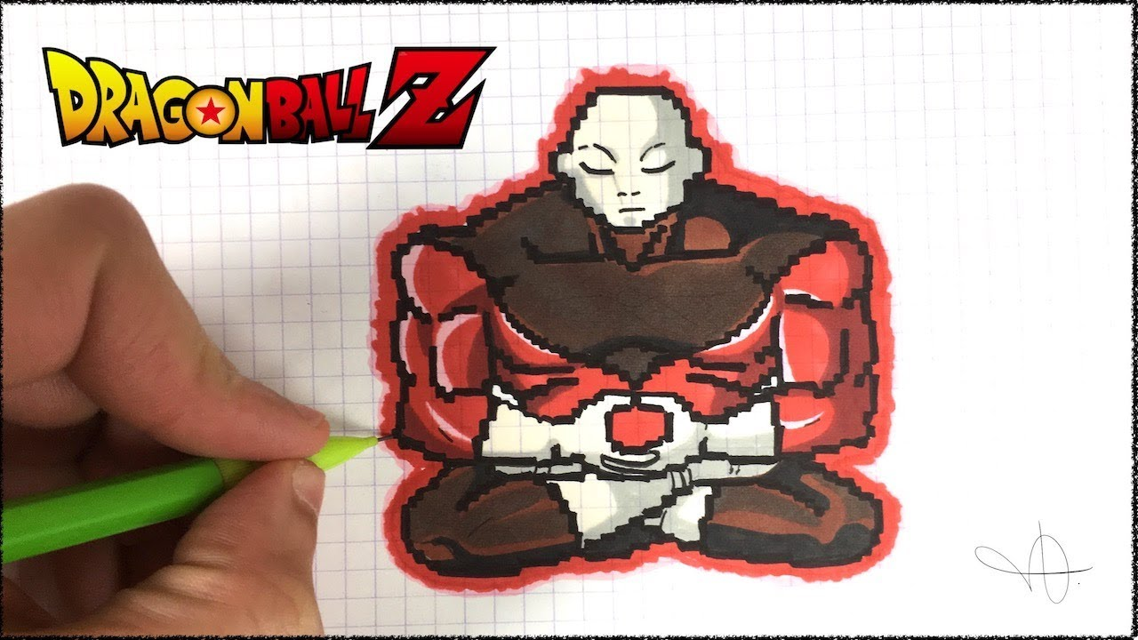 Draw Jiren Pixel Art