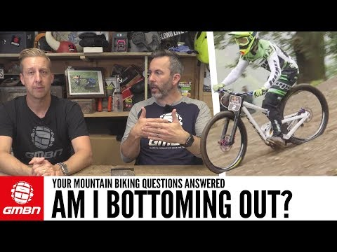 How Often Should My Fork Bottom Out? | Ask GMBN Anything About Mountain Biking