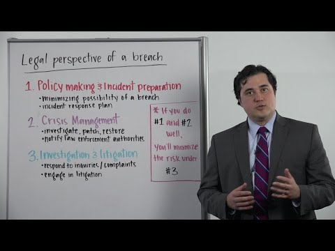 Whiteboard Wednesday: The Legal Perspective of a Breach