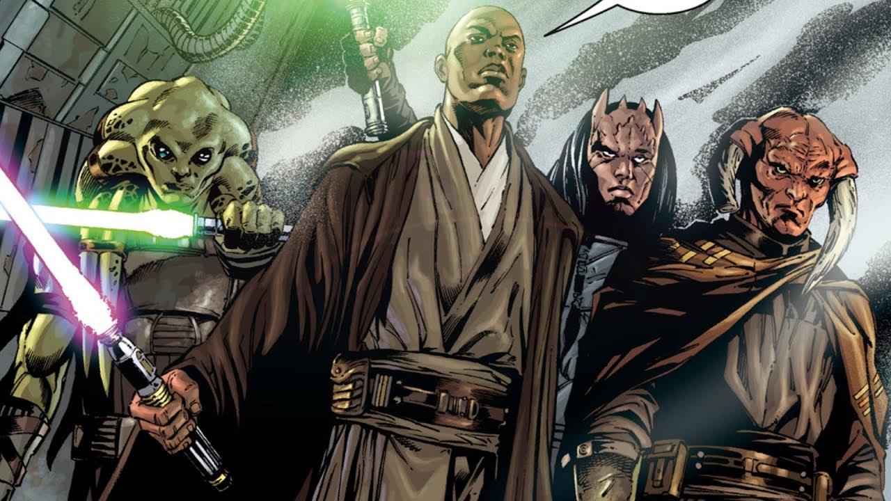 Darth Vader and Galen Marek vs Mace Windu, Kit Fisto, Saesee Tiin, Agen Kolar  Maxresdefault