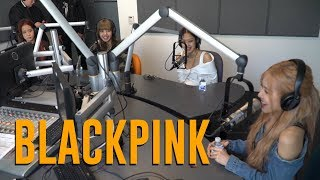 Blackpink Talks Coachella, US Tour, New Music, Being Haunted By Ghost & More | JoJo On The Radio