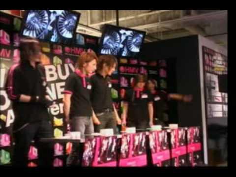 alice nine.   Saga & Hiroto comment  CROSS GAME Event