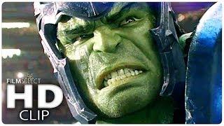THOR RAGNAROK: Hulk vs Thor Clip (Español) 2017 thumbnail