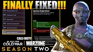 Agency Suppressor Finally Fixed and Usable Again in Warzone | Cold War Weapon Update