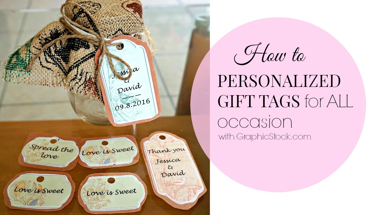 Diypersonalized tags for wedding all occasion youtube youtube premium negle Choice Image