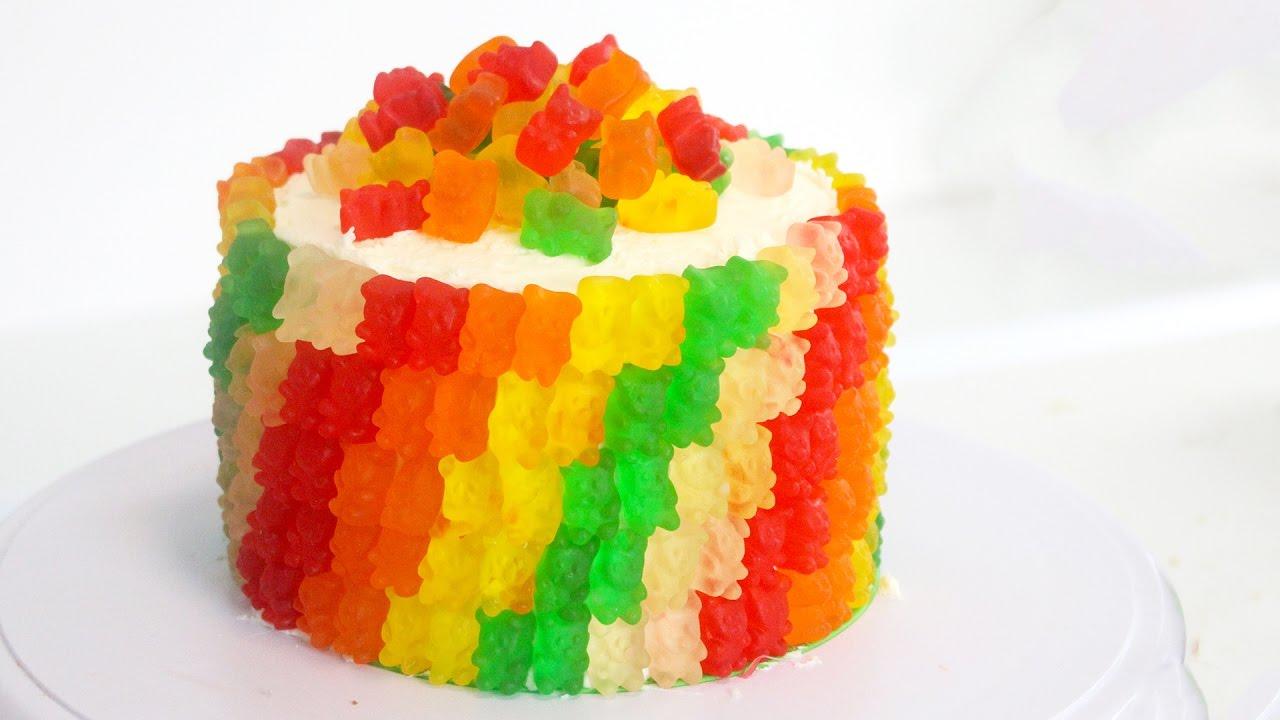 Gummy Bear Cake | RECIPE - YouTube