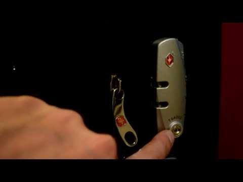 Кодовый замок на чемодане WENGER. Как пользоваться.
