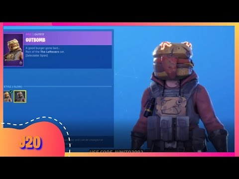 NEW FORTNITE ITEM SHOP TODAY AUGUST 15th GUTBOMB HOTHOUSE GRILLCOUNT  ( FORTNITE BATTLE ROYALE )