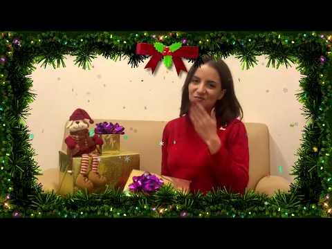 Поздравление зрителей телеканала TVMChannel от Карины Хвойницкой