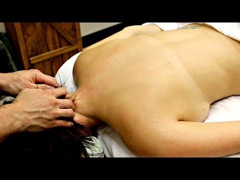 Deep Tissue Massage Relaxation | No Talking