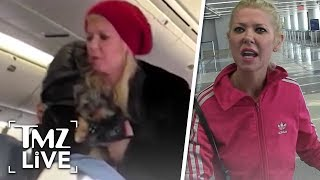 Tara Reid Goes Nuts On A Plane! | TMZ Live