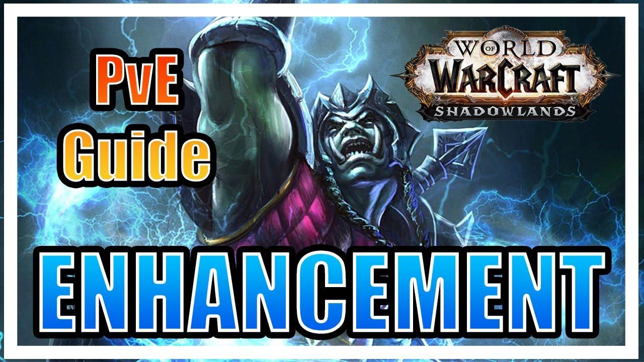 WoW SL - Enhancement Shaman Talent Guide Pre-Patch - YouTube