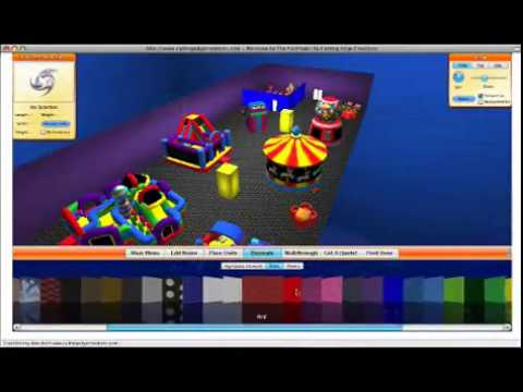 Inflatable Event Layout Design Software - YouTube