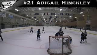2018-2019 #21 Abigail Hinckley GY 2019 Carolina Lady Eagle Highlights